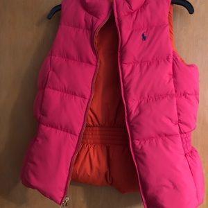 Polo Ralph Lauren reversible vest